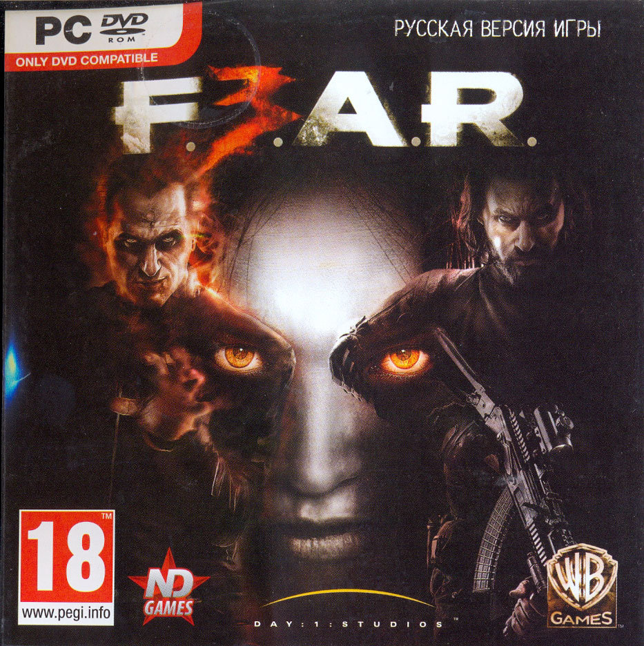 FEAR 3. (Steam\Scan\Region Free) Скан сразу