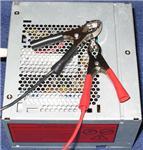 автомобильные зарядные устройства для аккумуляторов из блока питания компьютера.