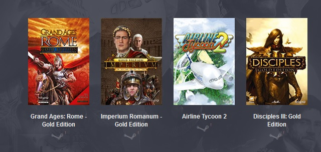 Humble Weekly Bundle: Kalypso 2 (4 steam игр)