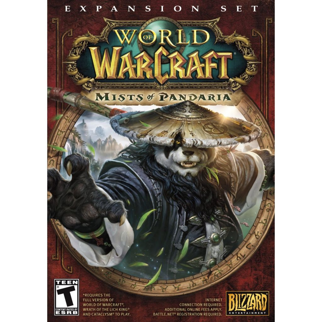 World of Warcraft:Mists of Pandaria EU Battlenet CD Key