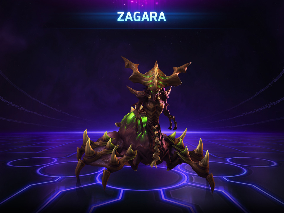 Герой - Загара.HEROES OF THE STORM (Zagara) Region Free