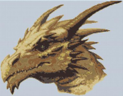 Картинка на телефон - Голова дракона.