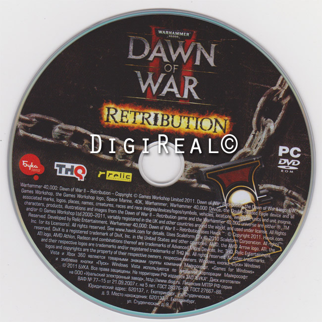 Warhammer 40000 Dawn of War. Retribution + Космодесант