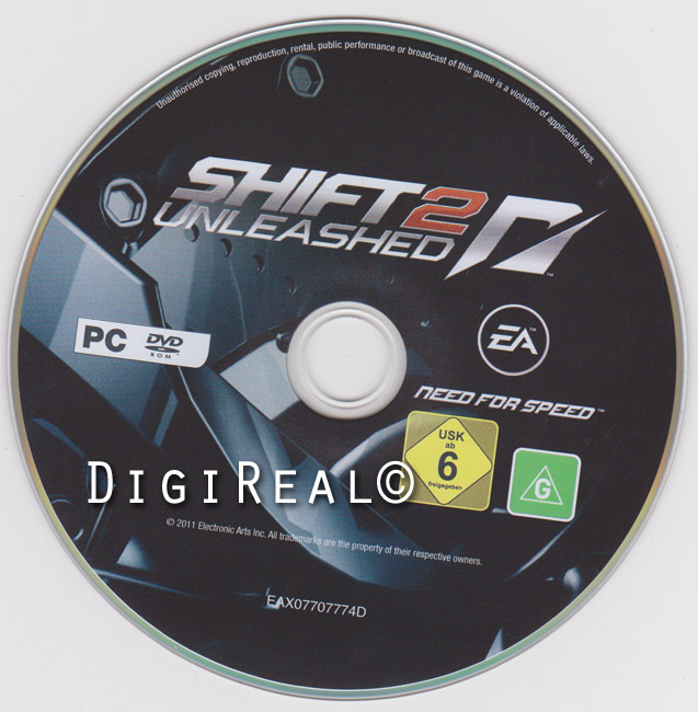 Need For Speed: Shift 2 Unleashed (EADM/Region Free)