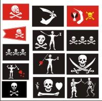 Пиратский флаг веселый роджер в