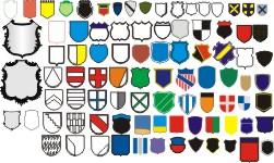 шаблоны герба для фамильного