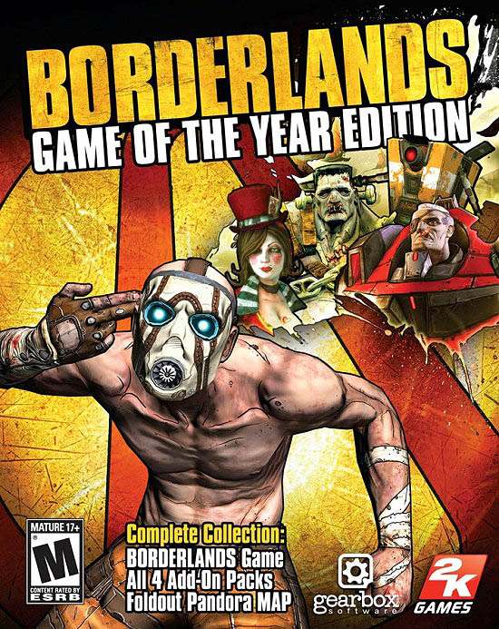 Borderlands: Game of the Year (EU/Multilanguage) Steam