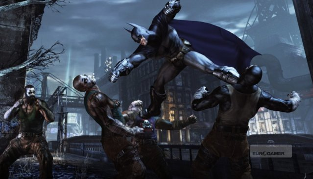Batman: Arkham City GotYE (Steam Gift / Region FREE)