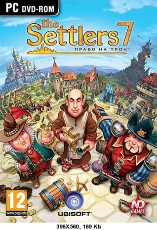 The Settlers 7 Право на трон. (Новый Диск, Region Free)