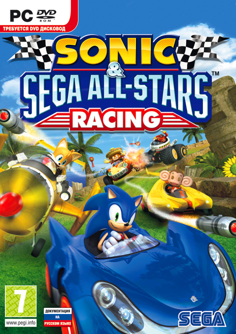 Sonic & SEGA All-Stars Racing (Steam KEY) + ПОДАРОК