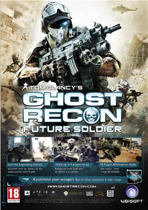 Ghost Recon: Future Soldier Deluxe Edition + GIFT