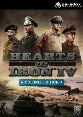 Hearts of Iron IV: Colonel Edition (Steam KEY) + GIFT