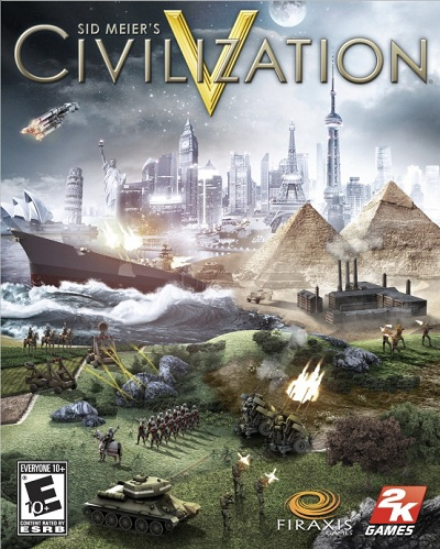 Civilization V: DLC Scrambled Continents Map Pack