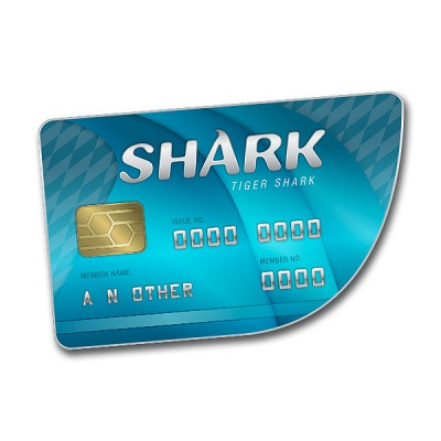 GTA Online: Tiger Shark Card 200 000$