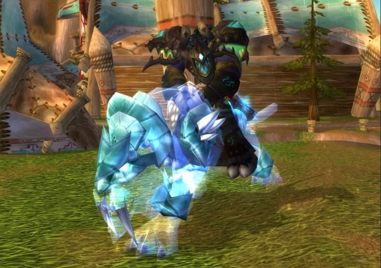 Spectral Tiger (Tiger Ghost) in the presence of a code 3