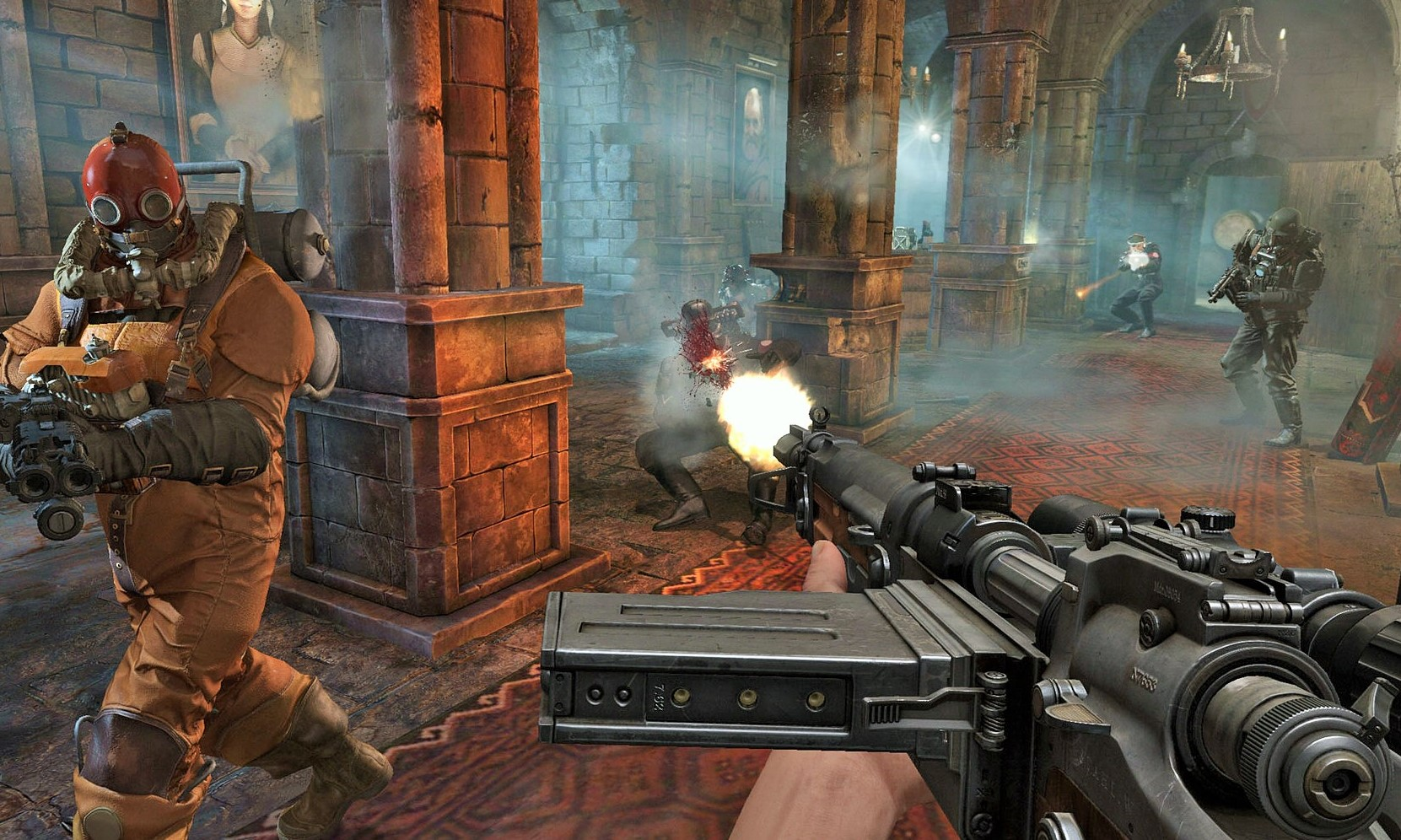 Wolfenstein The Old Blood (RU/CIS activation; ROW gift)