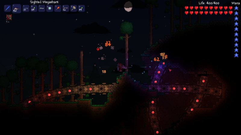 Terraria (Steam region free; ROW gift)