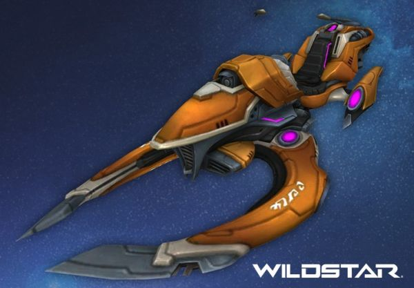 Wildstar - Orange Bandit Carver Mount Key - Region Free