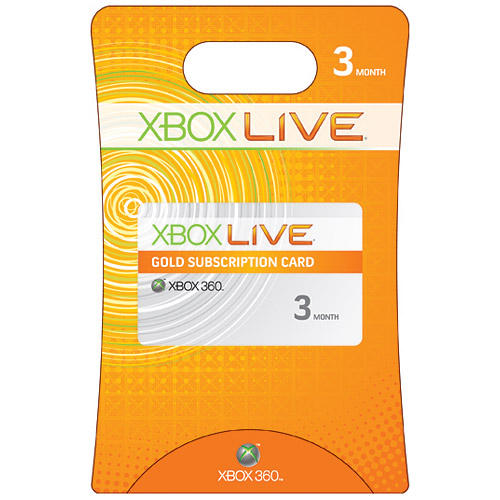 Xbox LIVE 3 Month Gold WORLDWIDE