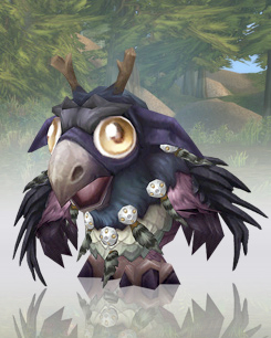 Moonkin Hatchling - WoW Pet (Лунный Совух)