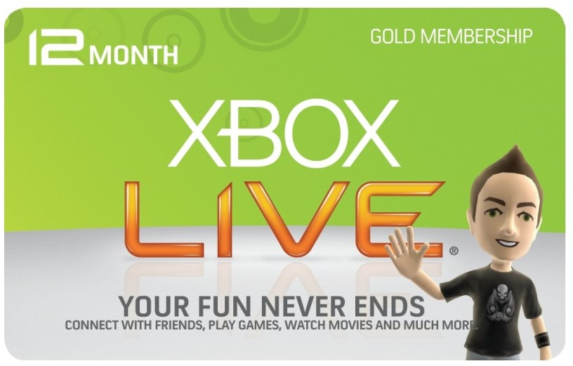 XBOX LIVE GOLD 12 MONTHS - (WORLDWIDE - EU/USA/RU) SCAN
