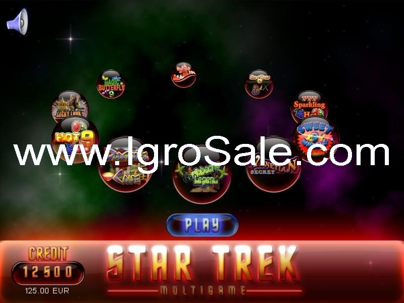Scg Star Trek Multigame Professional Software For Gaming