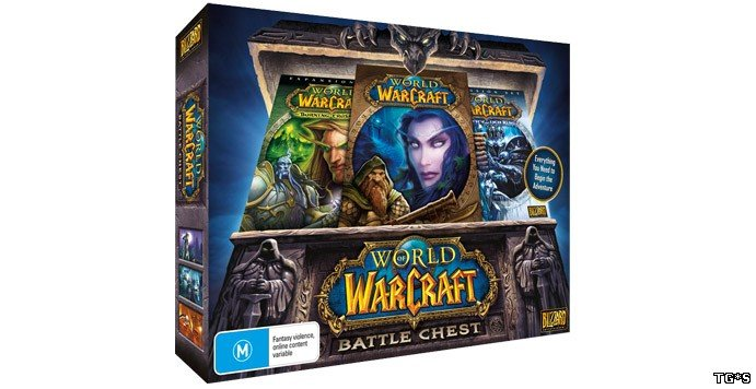 WOW BATTLE CHEST 30дней+TBC+WOLK+CATA CD-KEY(EU версия)