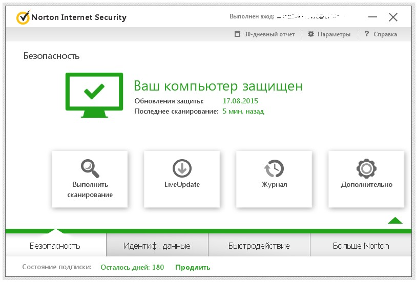 a.Norton Internet Security 2018-14 1PС 3 mth ORIGINAL