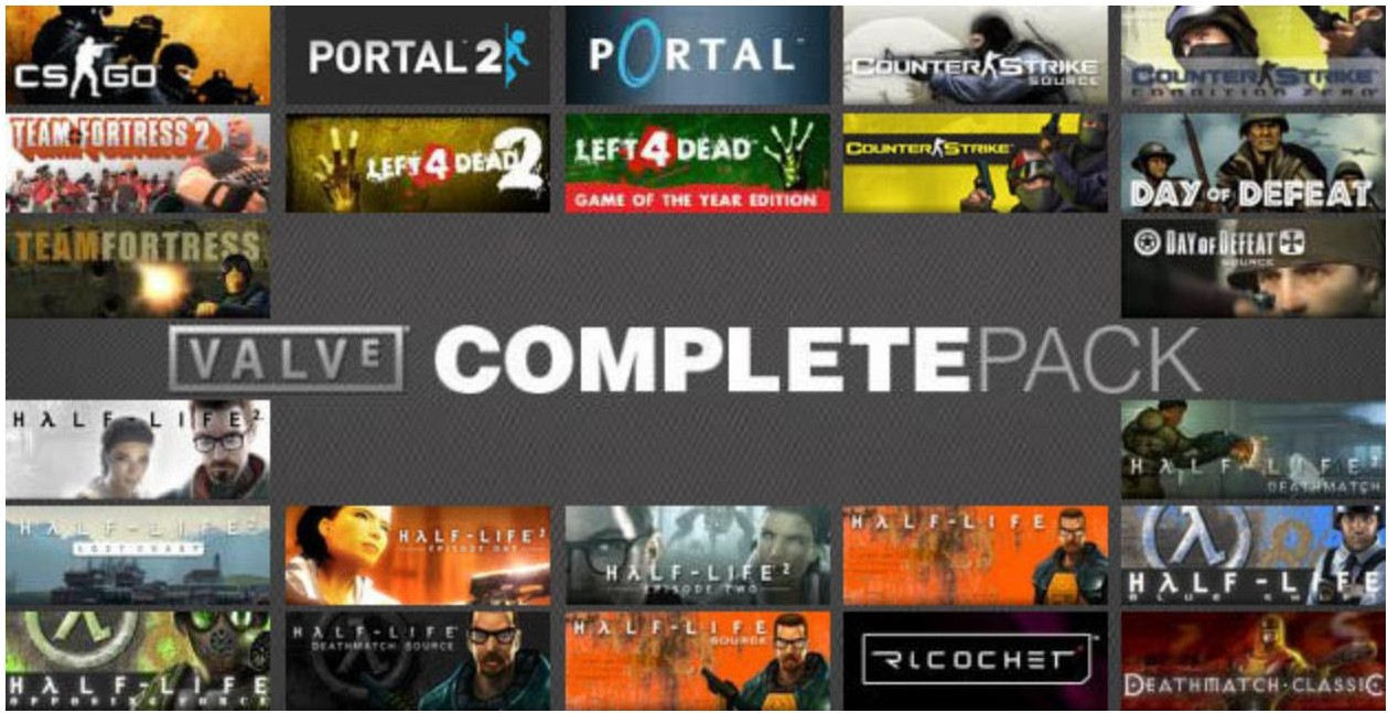 Valve Complete Pack (Steam / RU / CIS) + БОНУС