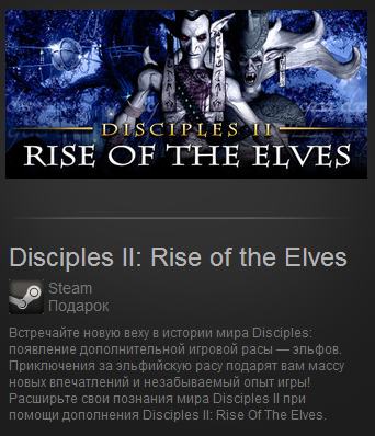 Disciples II: Rise of the Elves Steam Gift RU/CIS