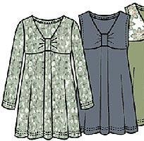 Выкройка платья ампир 026