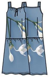 Выкройка летнего платья 179