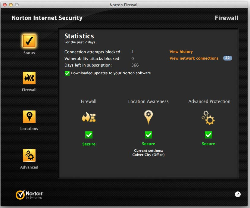 a. Norton™ Internet Security 5 and 4for Mac 1PC 1 YEAR