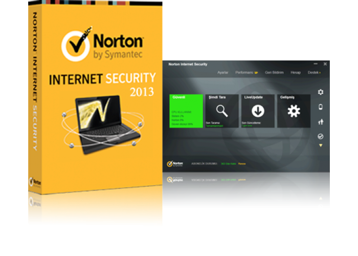 Norton ™ Internet Security 2014 3 PC 1 YEAR + REAL GIFT