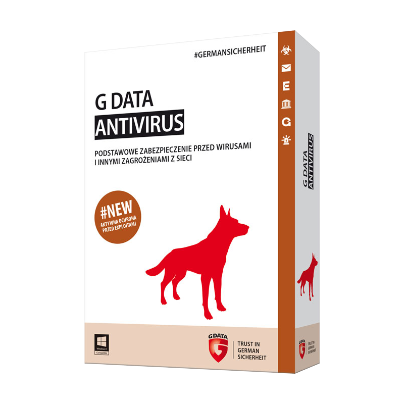 G Data AntiVirus 2015 1 PC 1 YEAR + BONUS / REGION FREE