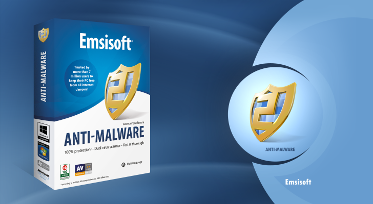 Emsisoft Anti-Malware 1 PC 180 Days or 2 PC 90Days PACK