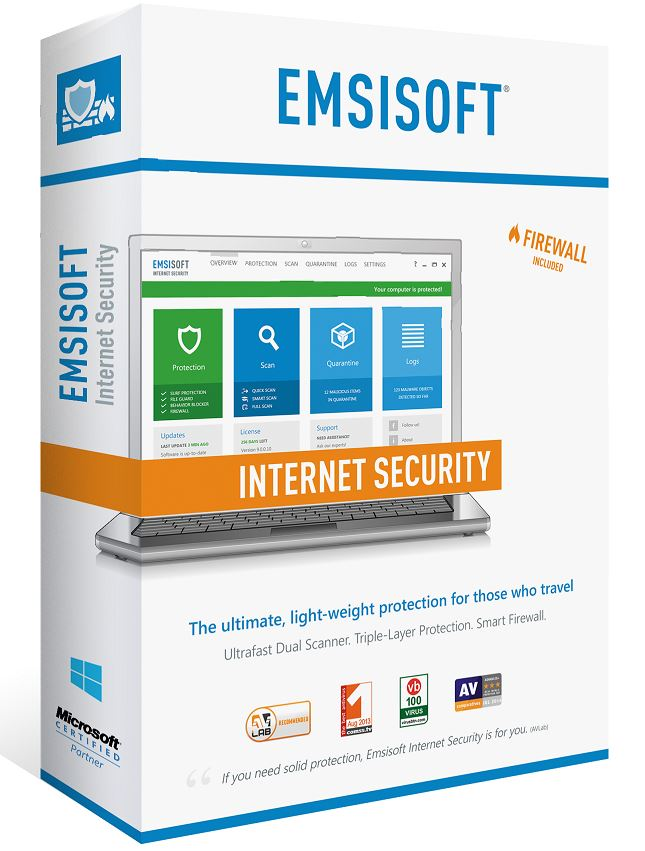 Emsisoft Internet Security 1 PC 1 YEAR / FREE REGION
