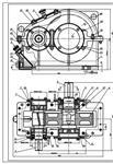 2002. редуктора цилиндрического с вертикальным Таблица подбора чертеж редуктора цилиндрического.  Габаритные.