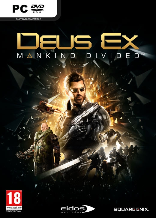 Deus Ex: Mankind Divided Day One Edition (Steam Key)