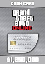 GRAND THEFT AUTO GREAT WHITE SHARK 1250000$ REGION FREE