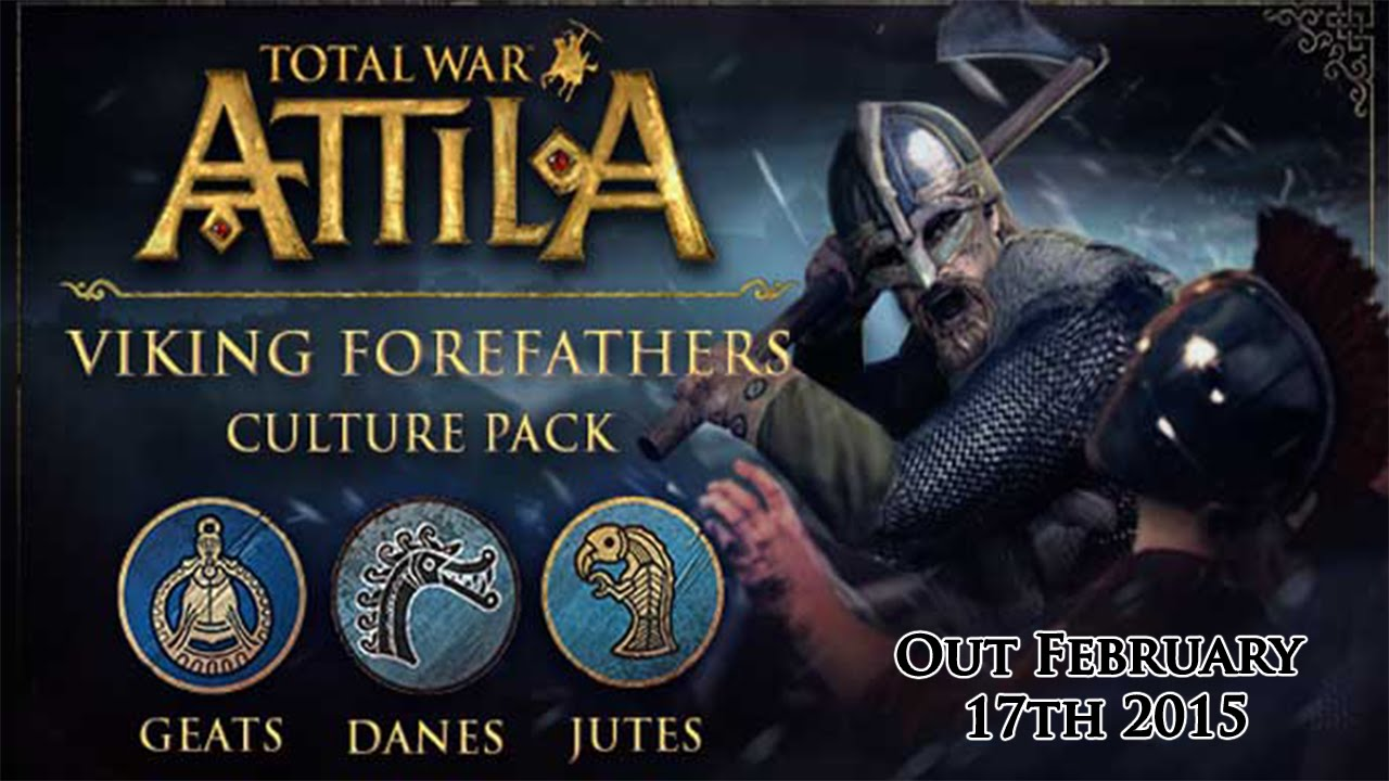 TOTAL WAR: ATTILA DLC VIKING FOREFATHERS REG FREE MULTI