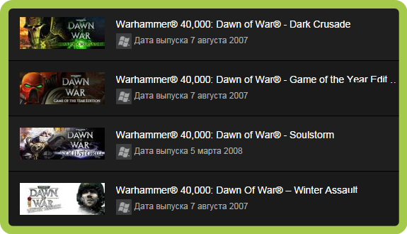 Warhammer 40,000: Dawn of War - Master Collection ROW