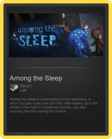 Among the Sleep (ROW) - steam gift + present + discount
