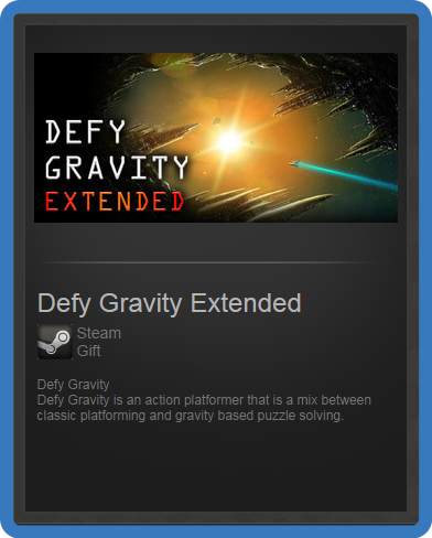 Defy Gravity Extended (ROW) - steam gift + discount