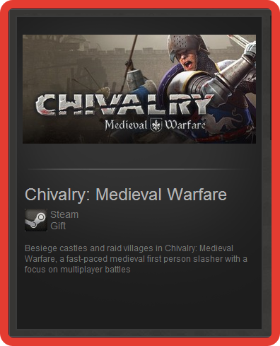 Chivalry: Medieval Warfare (ROW) - steam gift