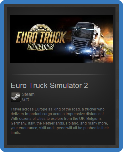 Euro Truck Simulator 2 (ROW) - steam gift + discount