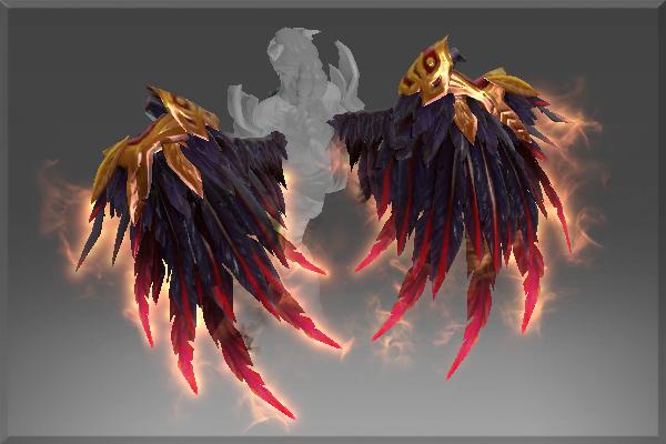 Купить Dota 2 - Bloodfeather Wings (спина) [Queen of Pain]