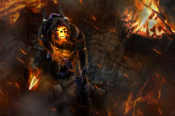 Купить Dota 2 - Cloak of the Fallen [Clinkz]