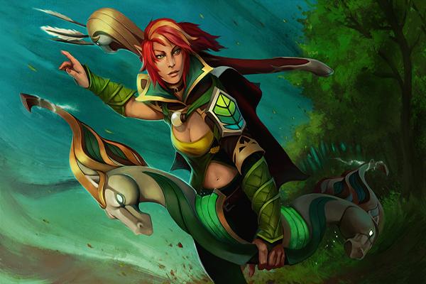 Купить Dota 2 - Aria of the Wild Wind [Windranger]