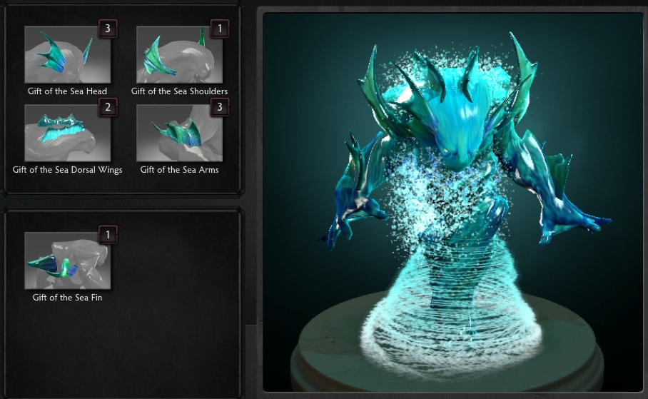 Купить Dota 2 - Gift of the Sea [Morphling].
